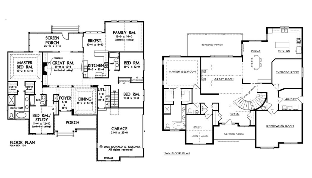 large home plans house plans with large basement favorable floor - Design A House